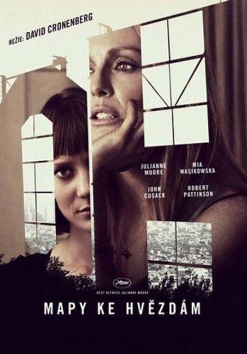 Mapy ke hvězdám (David Cronenberg: Julianne Moore, Mia Wasikowska, John Cusack..) - film DVD