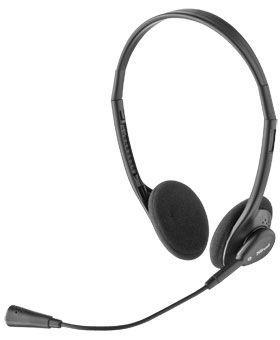 Trust HS-2100 - sluchátka s mikrofonem