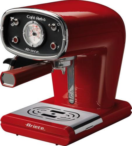 ARIETE 1388 RETRO, Espresso pákové červené
