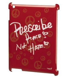 Whatever it Takes obal pre iPad2, dizajn: Kate Perry, červený