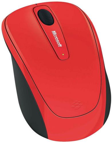 MICROSOFT L2 Wireless Mobile Mouse 3500 Fl (červená) - myš