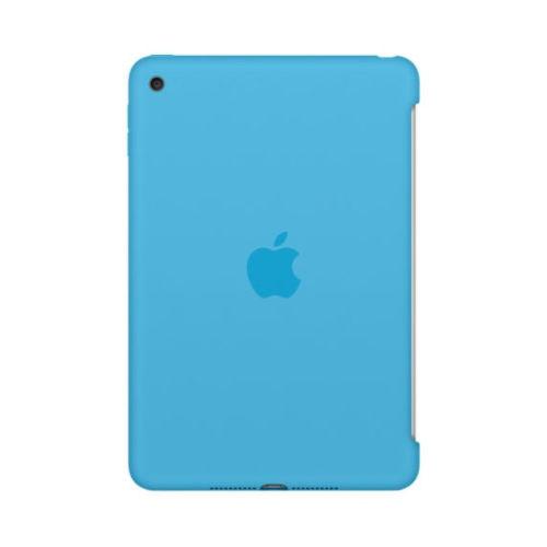APPLE iPad mini 4 Silicone Case - Blue MLD32ZM/A