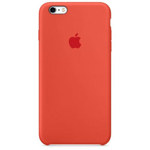 APPLE iPhone 6s Plus Silicone Case Orange MKXQ2ZM/A