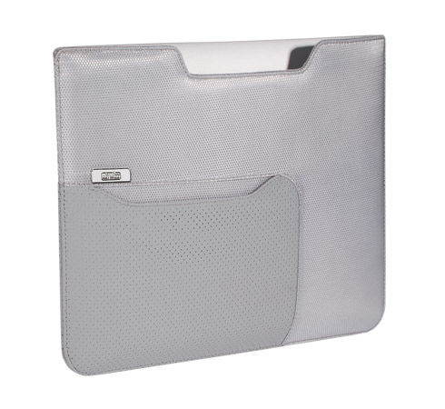 ARTWIZZ NEO POUCH, Silver Gray