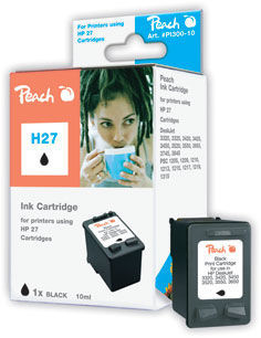 PEACH (alt. pre HP) C8727AE No.27XL black - atrament