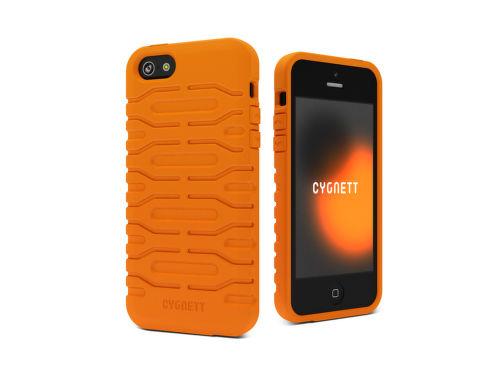 CYGNETT Bulldozer pre iPhone5, oranžový