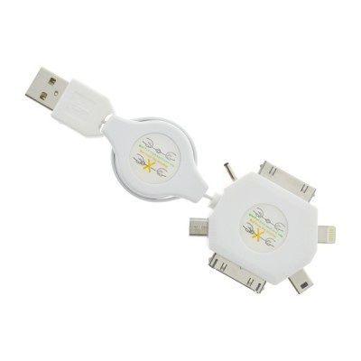 MOBILNET USB 6V1 biely vyť