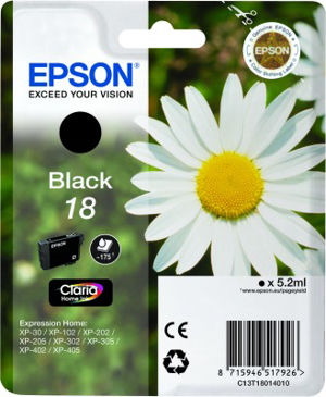 EPSON T18014020 BLACK cartridge Blister