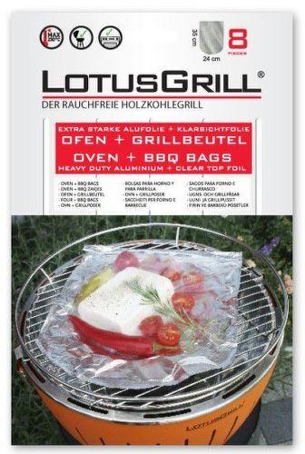 LotusGrill - špeciálne vrecko na grilovanie 8 ks