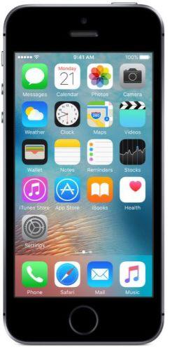 APPLE iPhone SE 16GB Space Grey MLLN2CS/A