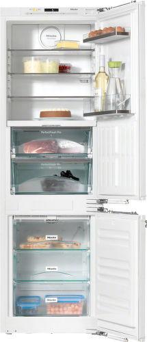 Miele KFN37682ID, vstavaná kombinovaná chladnička