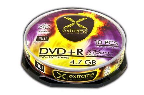 ESPERANZA DVD+R EXTREME 4,7GB X16 - CAKE BOX 10 ks
