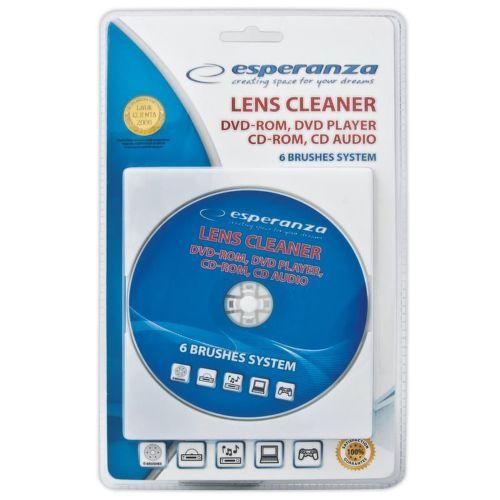 ESPERANZA ES117, čistiace CD/DVD