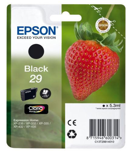 EPSON 29 Claria Black, Atramentová náplň