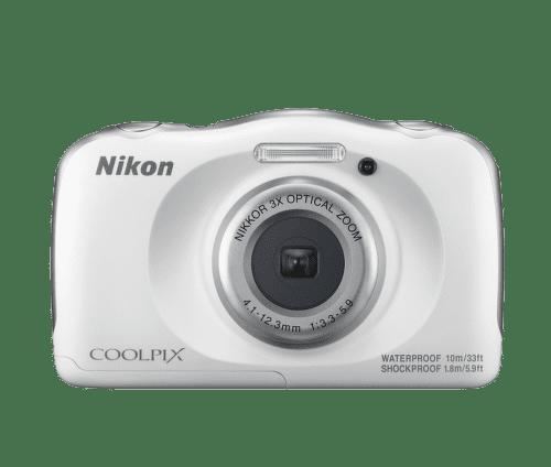 NIKON COOLPIX W100 WHT, Digitálny fotoap