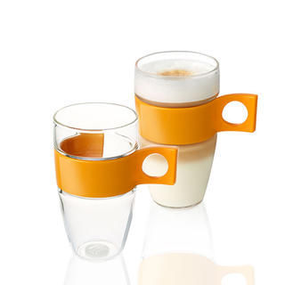 NESCAFE LtMacgLASS 2ks XL, Set šálok