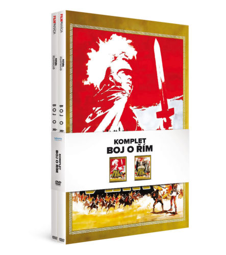 DVD Boj o Rim komplet_1