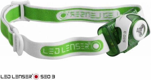 LED LENSER SEO 3 GRN, LED čelovka_1