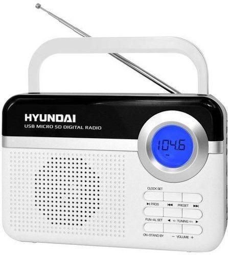 Hyundai PR 471 PLL SU BS - rádioprijímač (biely)