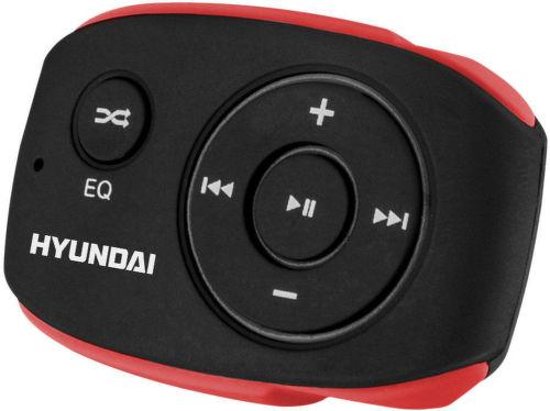 Hyundai MP 312 8GB - MP3 prehrávač (čierno-červený)