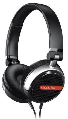 Creative Flex Slúchadlá s mikrofónom (čierne)