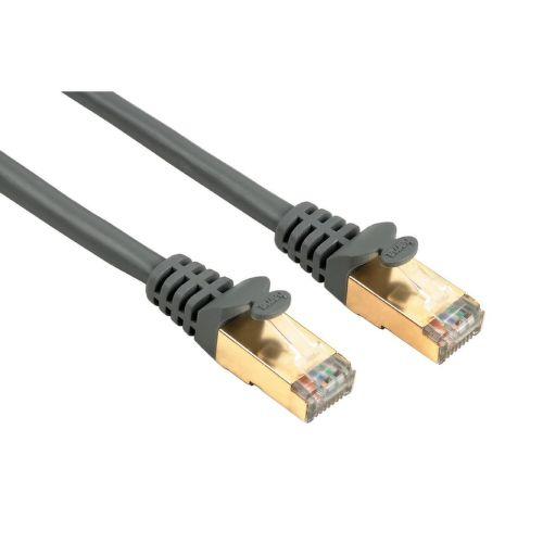 Hama 41896 sieťový patch kábel CAT 5e, 2xRJ45, tienený, 5m