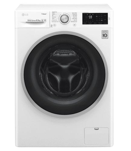 LG WD60J6WY1W smart parná práčka plnená spredu