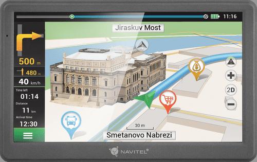 NAVITEL E700, GPS navigácia