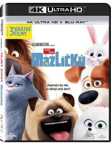BONTON Tajný život mazl., UHD + BD film