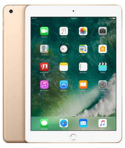 Apple iPad Wi-fi 128GB (zlatý), MPGW2FD/A