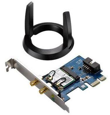 ASUS PCE-AC55BT, WiFi sieťová karta