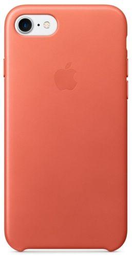 Apple Leather Case pre Apple iPhone 7 Geranium