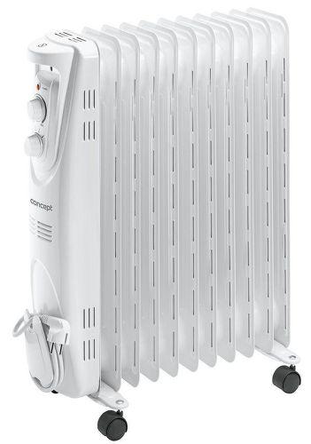 CONCEPT RO3211, biely olejový radiátor