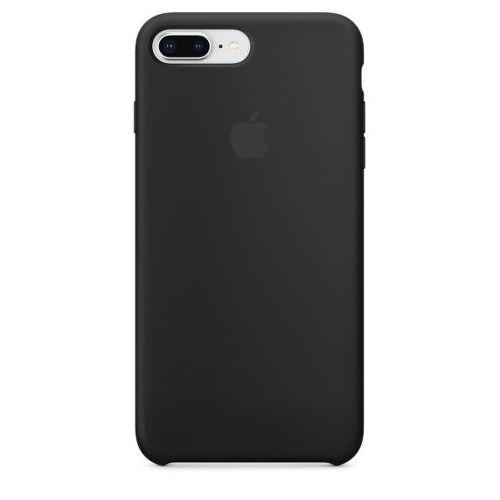 APPLE Silicone Case pre iPhone 8+/7+, čierna_1