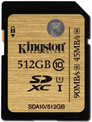 KINGSTON ULTI 512GB SDXC