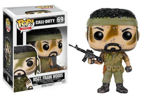 Vinylová figúrka Msgt Frank Wood - Call of Duty