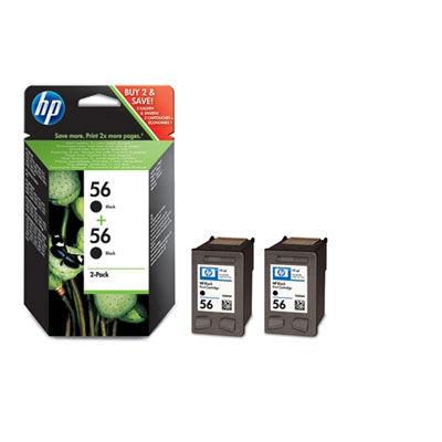 HP C9502AE Value Pack - 2x HP56