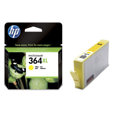 HP CB325EE YELLOW XL náplň No.364Y XL BLISTER
