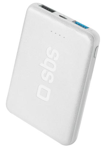 SBS Pocket powerbanka 5000 mAh, biela