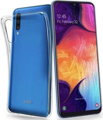 SBS Skinny silikónové puzdro pre Samsung Galaxy A50, transparentná