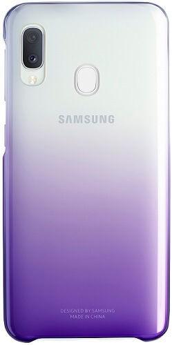 Samsung Gradation Cover zadný kryt pre Samsung Galaxy A20e, fialová