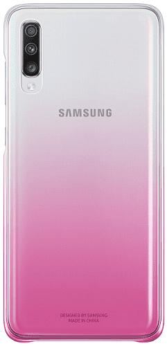 Samsung Gradation Cover zadný kryt pre Samsung Galaxy A70, ružová