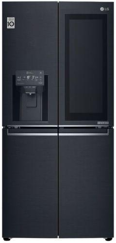 LG GMX844MCKV, čierna americká chladnička