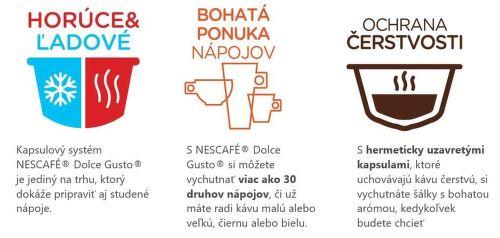vlastnosti krups KP173B31 Nescafé Dolce Gusto Infinissima