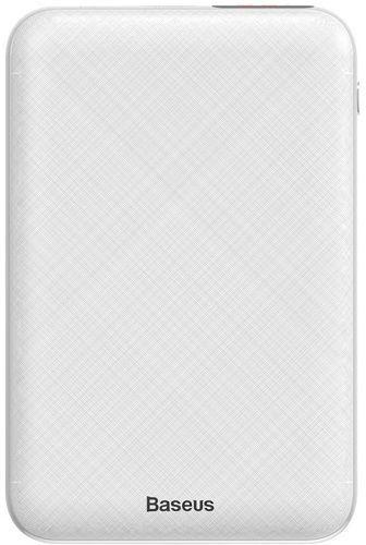 Baseus Mini S Digital powerbanka 10 000 mAh, biela