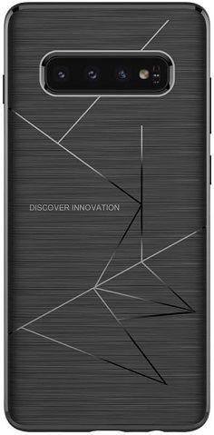 Nillkin Magic Case Qi puzdro pre Samsung Galaxy S10+, čierna