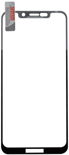 QSKLO 2,5D ochranné sklo pre Motorola One Lite, čierna