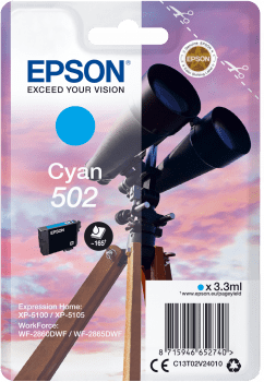 EPSON singlepack 502 CYN