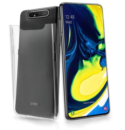 SBS Crystal puzdro pre Samsung Galaxy A90 a A80, transparentná
