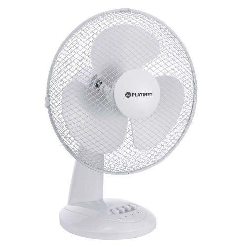 """Platinet Fan 12"""" White"""